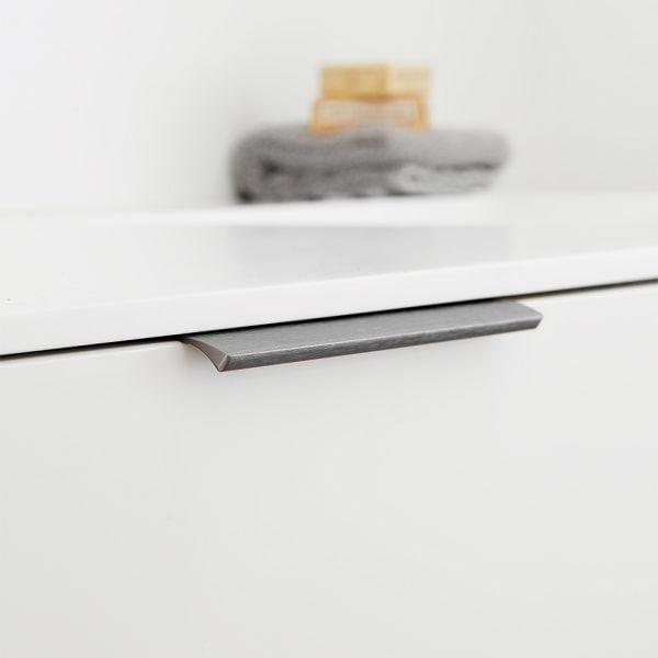 304167 11 Profilhandtag edge straight Antracit 200 mm