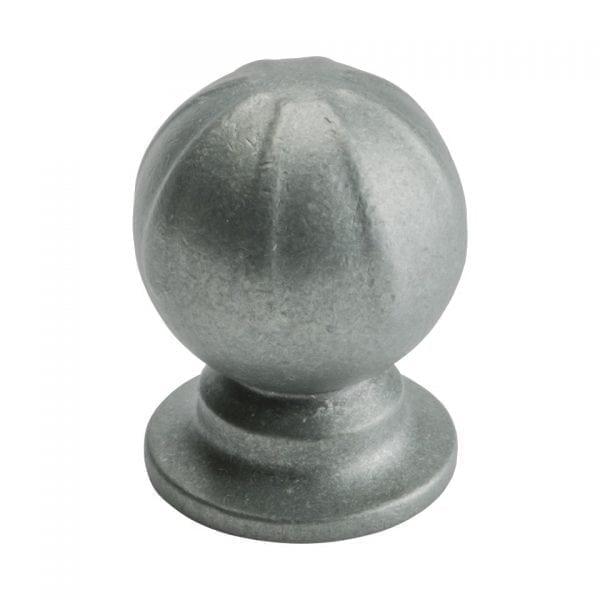 Knopp Banister - antik grå