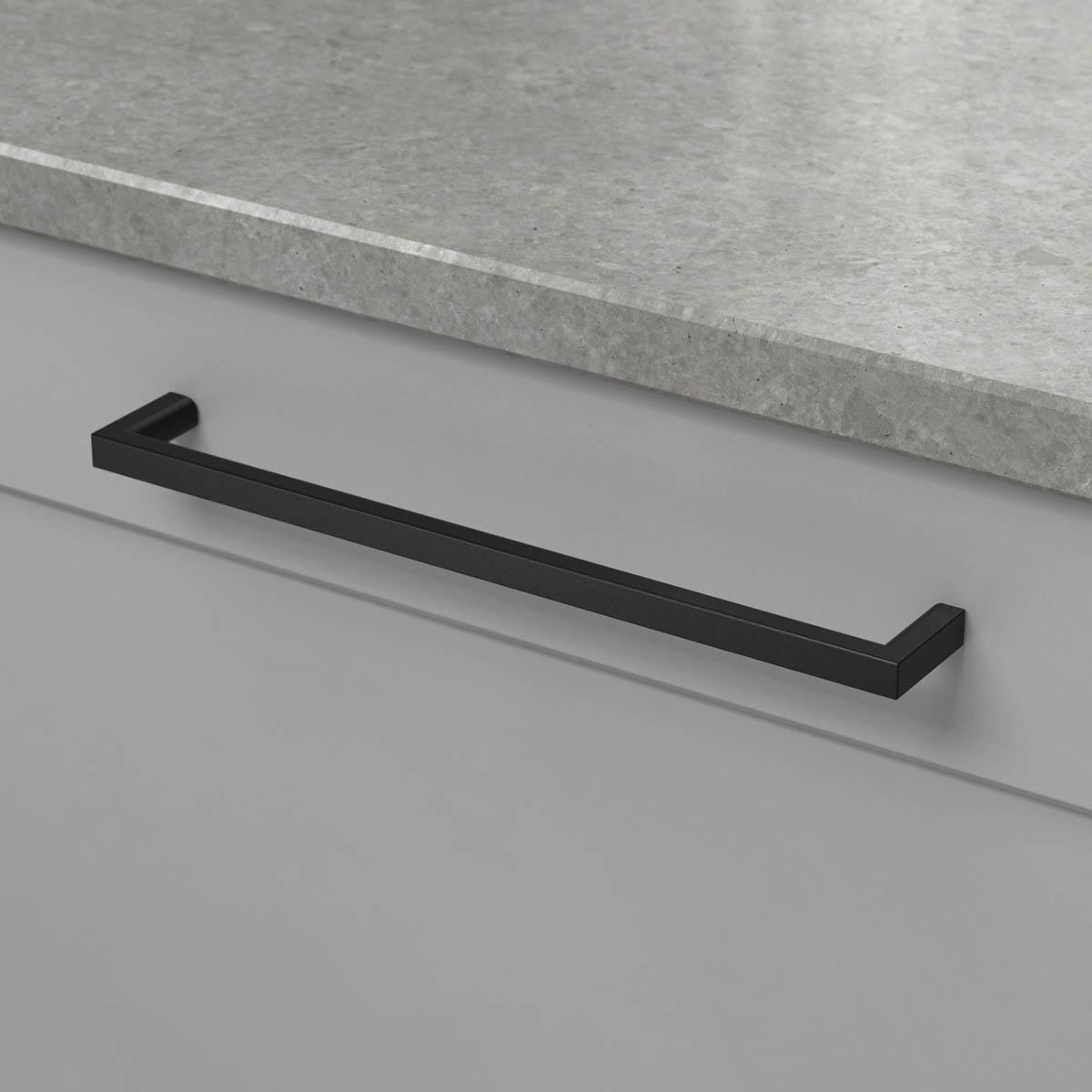 Handtag soft matt svart 306006 11 cc 192 mm ncs s 4500 n noble concrete grey