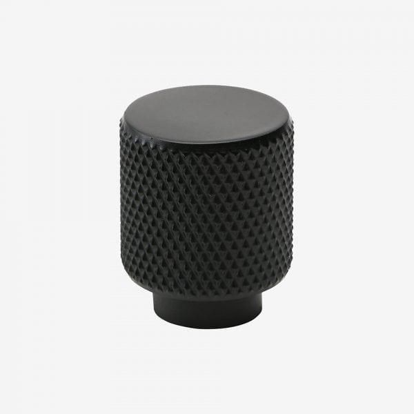 Knopp Helix - matt svart
