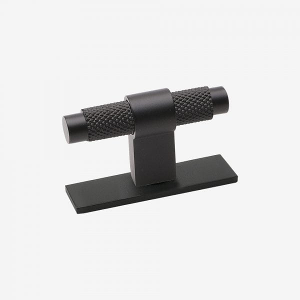 Knopp Pitch - med bricka / matt svart