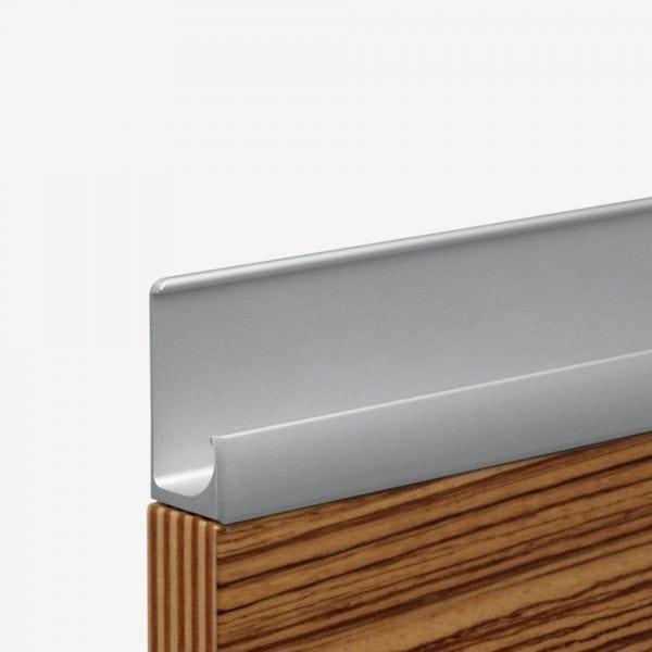 Profilhandtag A-100 - aluminium