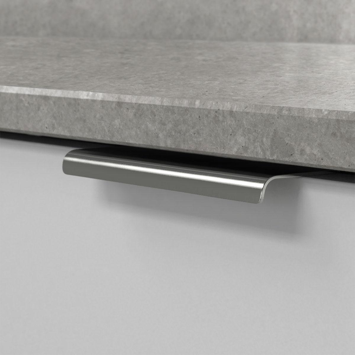 Profilhandtag lip krom 343457 11 120 mm ncs s 3000 n marmor carrara