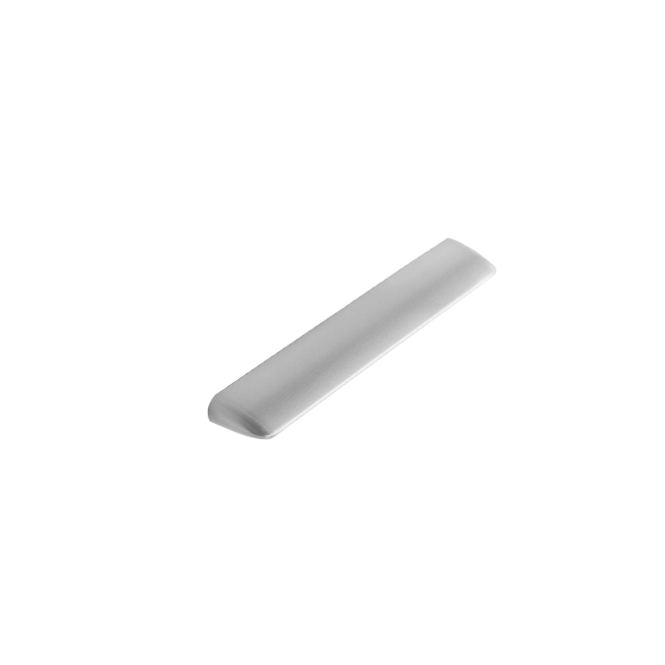 Handtag Quiet - rostfri look - 160