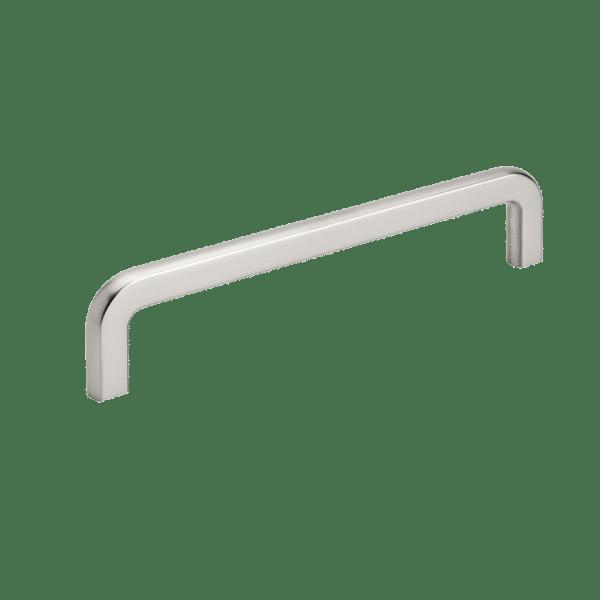 Handtag Compact - rostfri look - 160