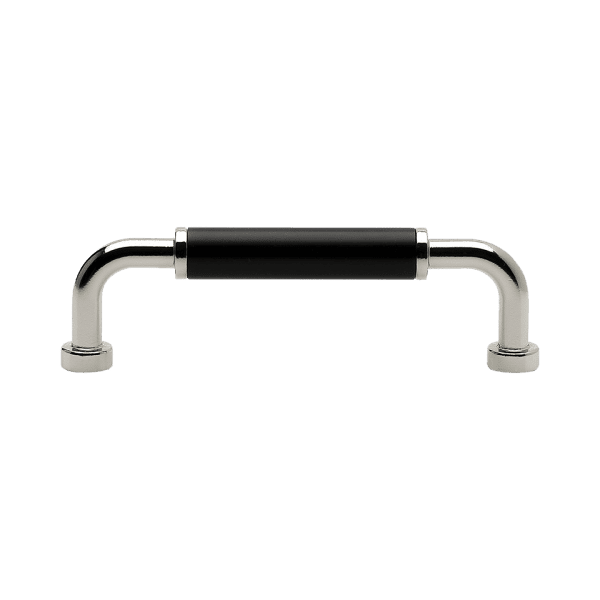 Handtag Brohult M fornicklad svart 397040 11 cc 96 mm