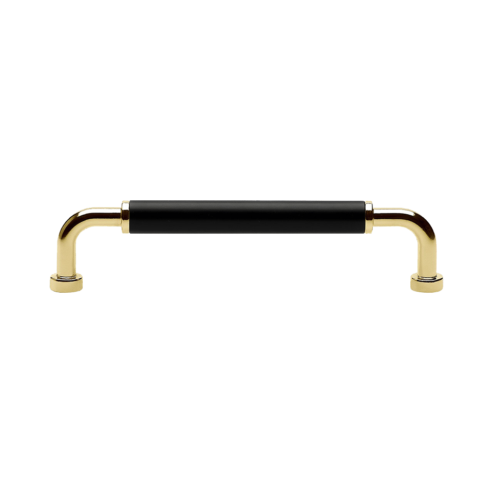 Handtag Brohult M massing polerad svart 397047 11 cc 128 mm