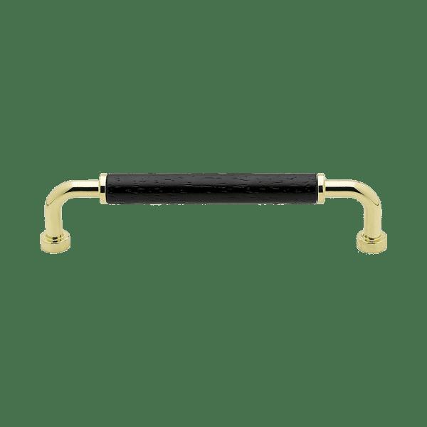 Handtag Brohult massing polerad svart 397028 11 cc 128 mm
