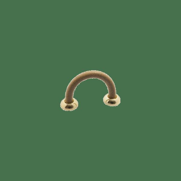 Handtag Strap natur massing polerad 301021 11 cc 32 mm
