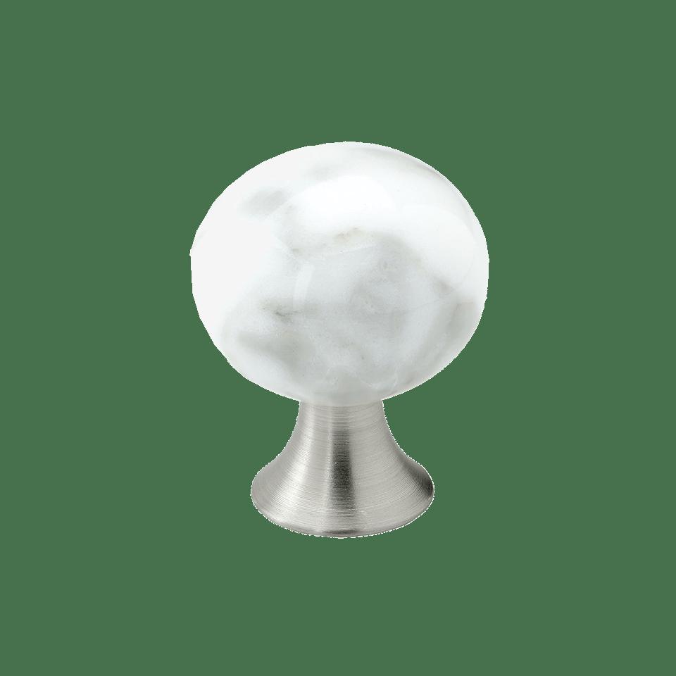 Knopp Bead Straight marmor gra 304060 11