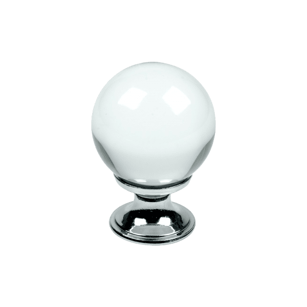 Knopp Crystal glas krom 430001 11