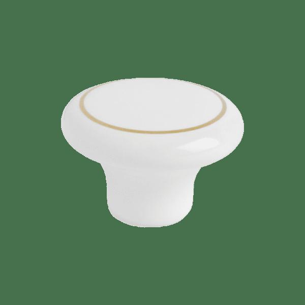 Knopp SP1 vit guld 4895 11