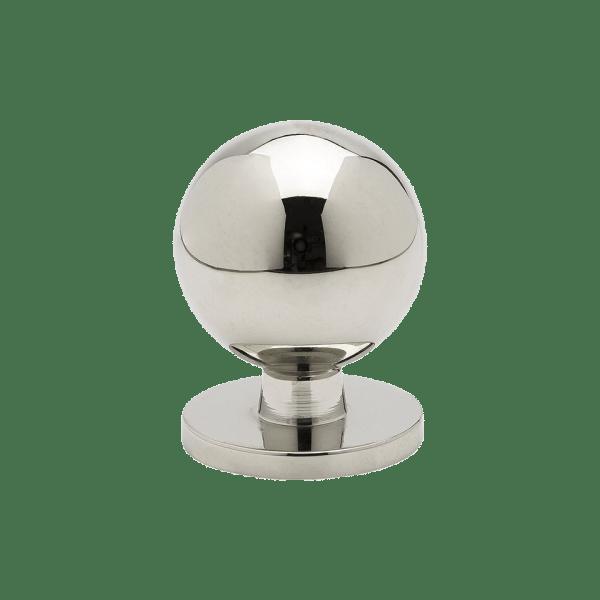 Knopp Soliden fornicklad 339430 11