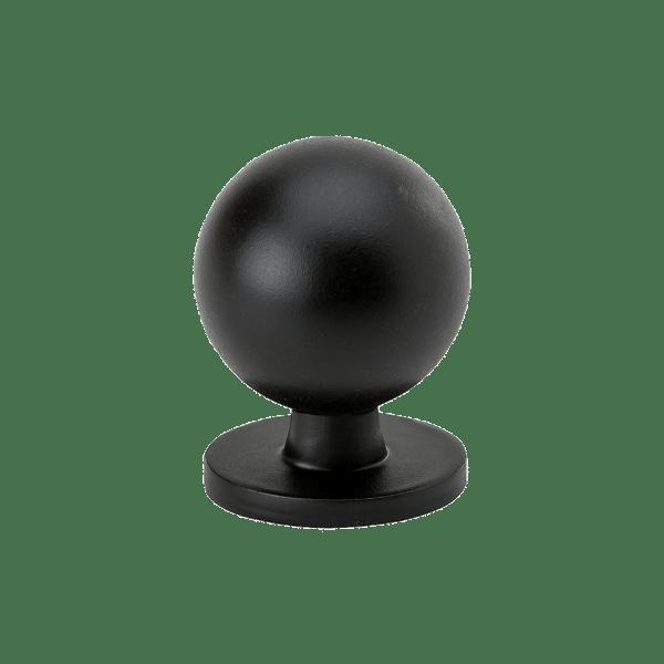 Knopp Soliden svart matt 339432 11