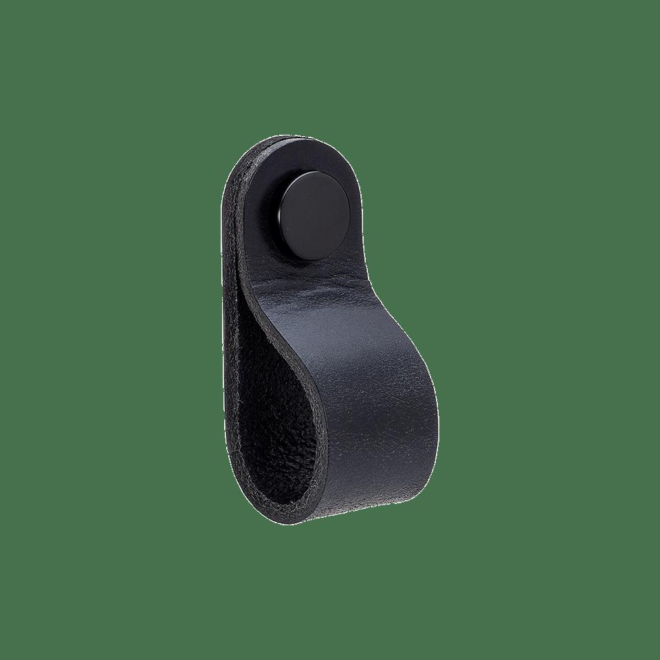 Loop Round - läder svart / svart