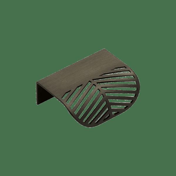 Profilhandtag Edge Filigree - antik brons