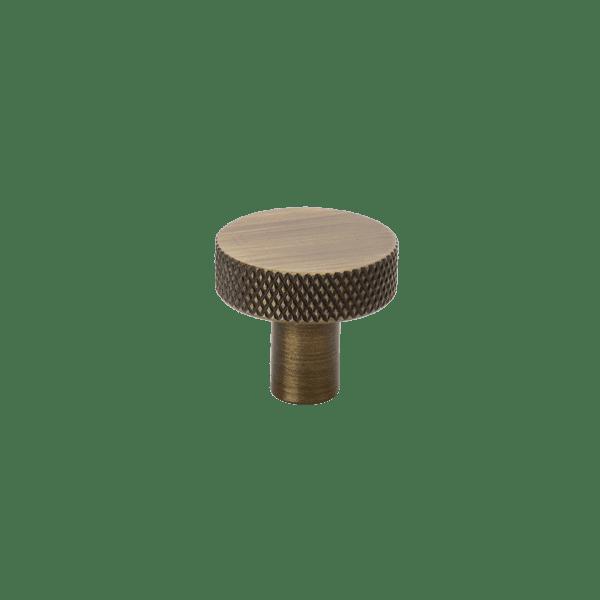 Beslag Design Flat antik brons Ø26