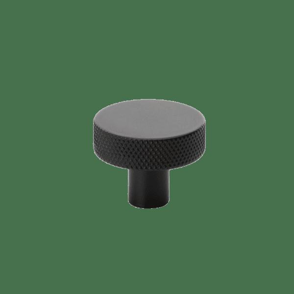 Beslag Design Knopp Flat mattsvart 32mm