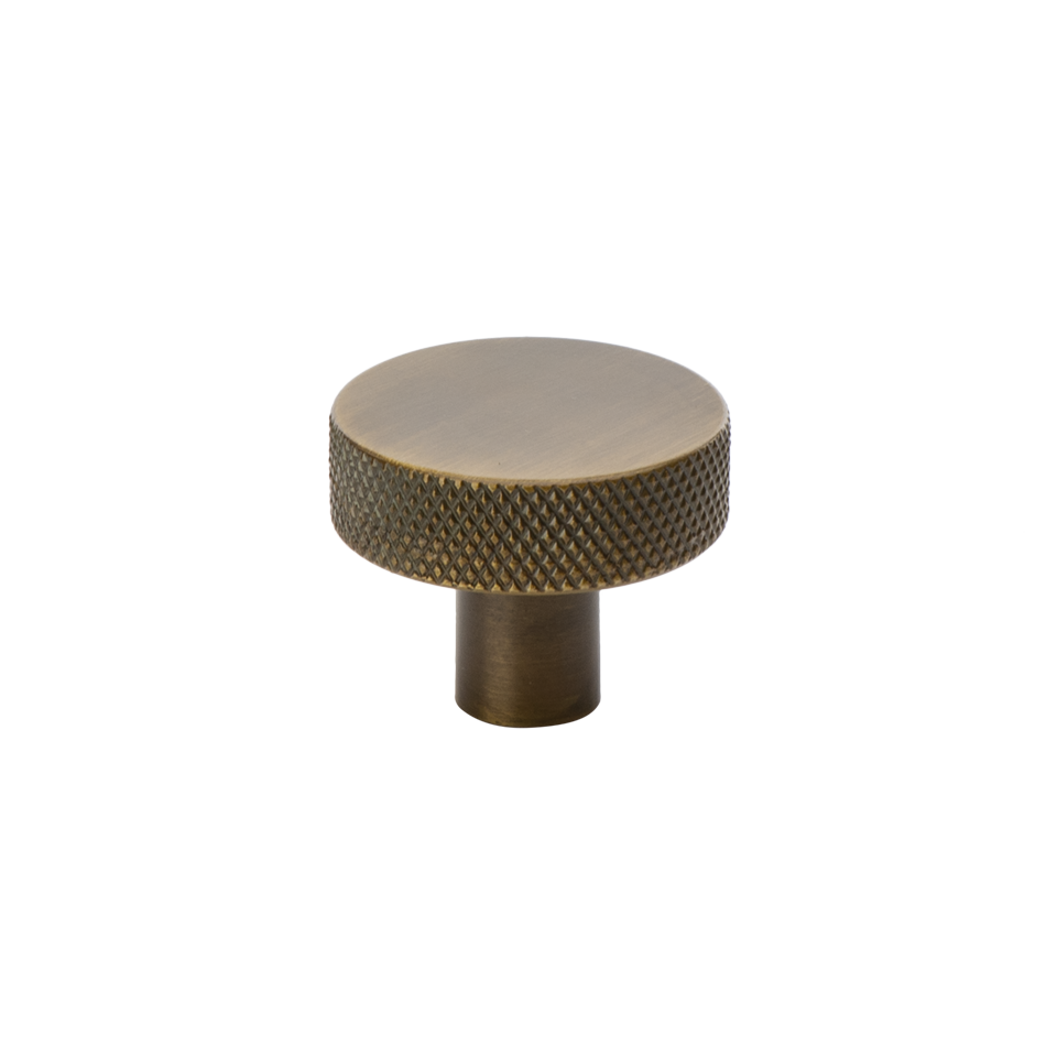 Beslag Design Flat antik brons Ø32