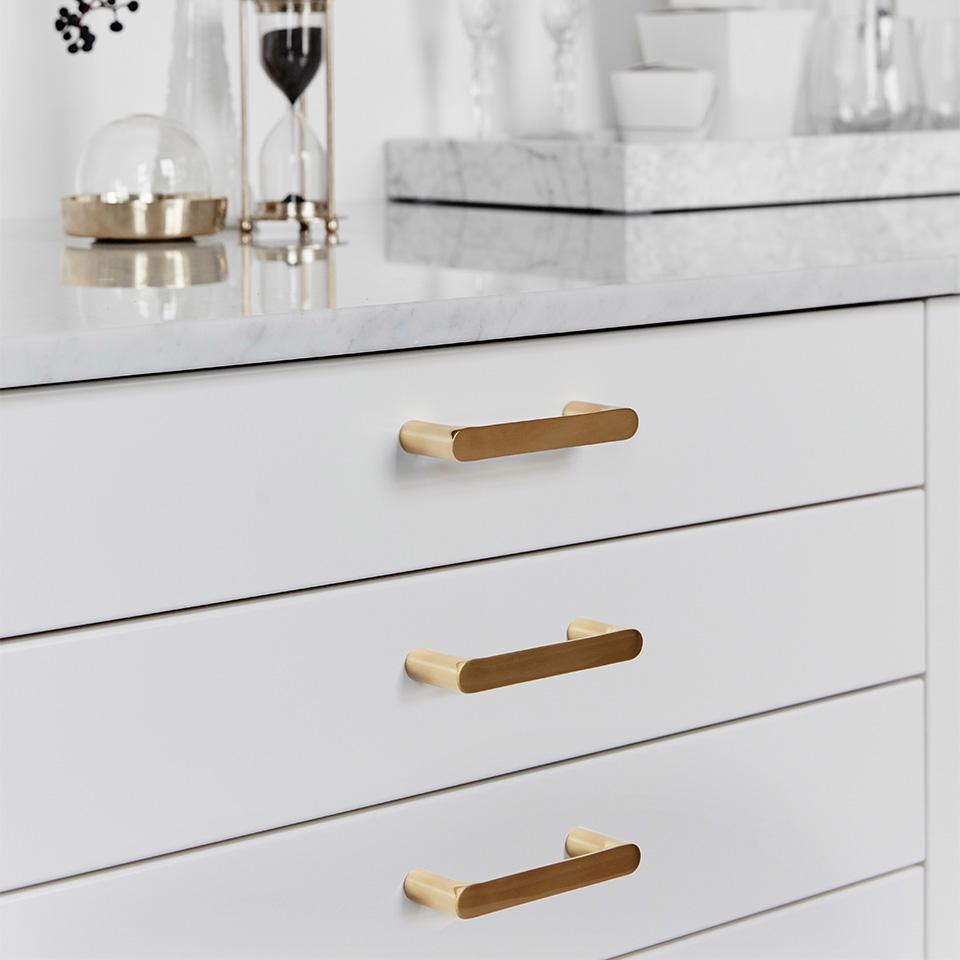 Habo Selection handle TS 1 brass 1