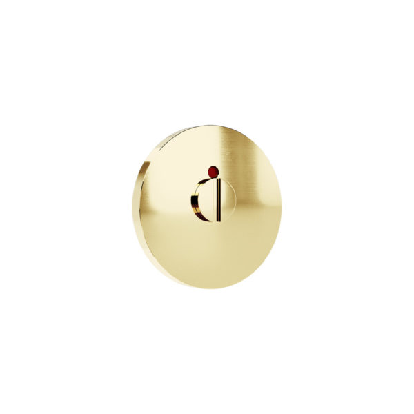 Haboselection bathroom turn brass 18089