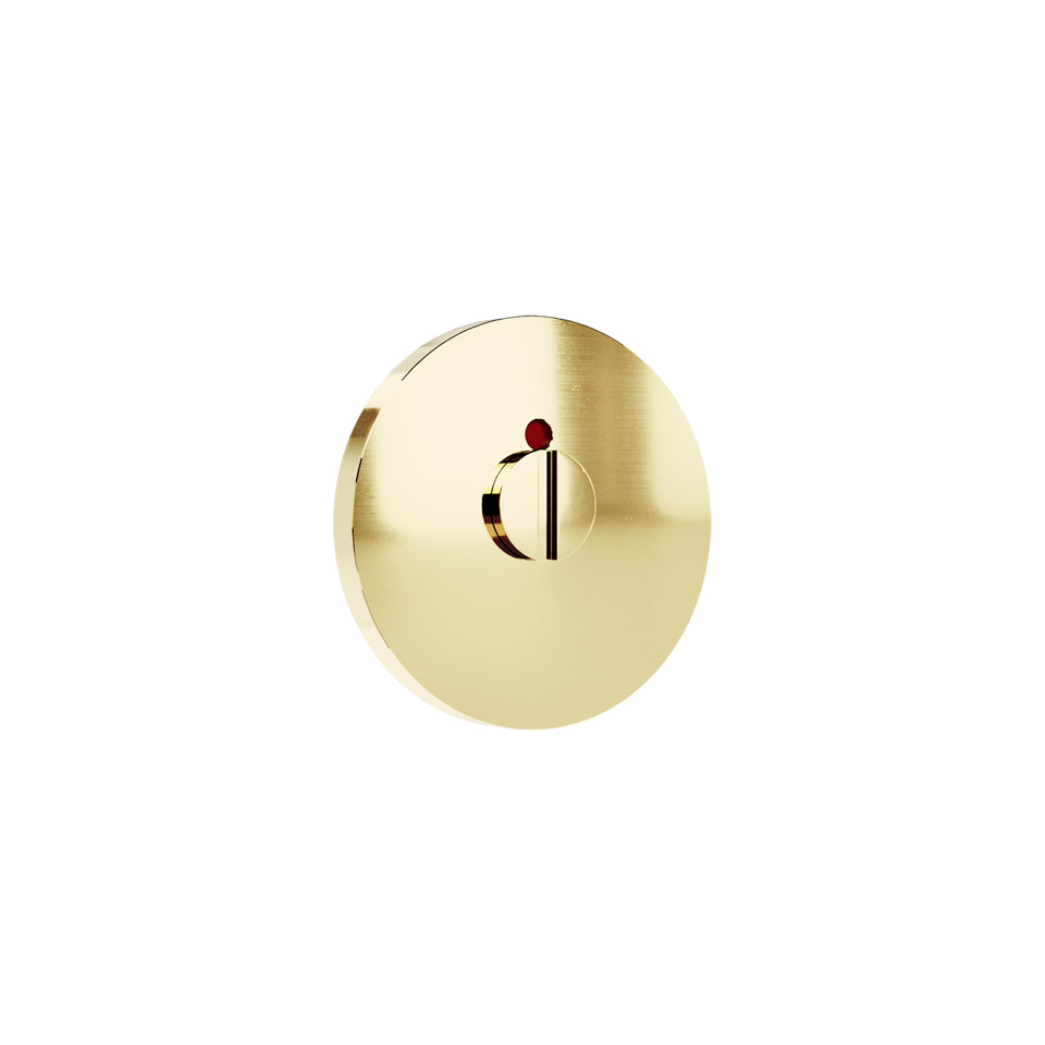 Haboselection bathroom turn brass 18089