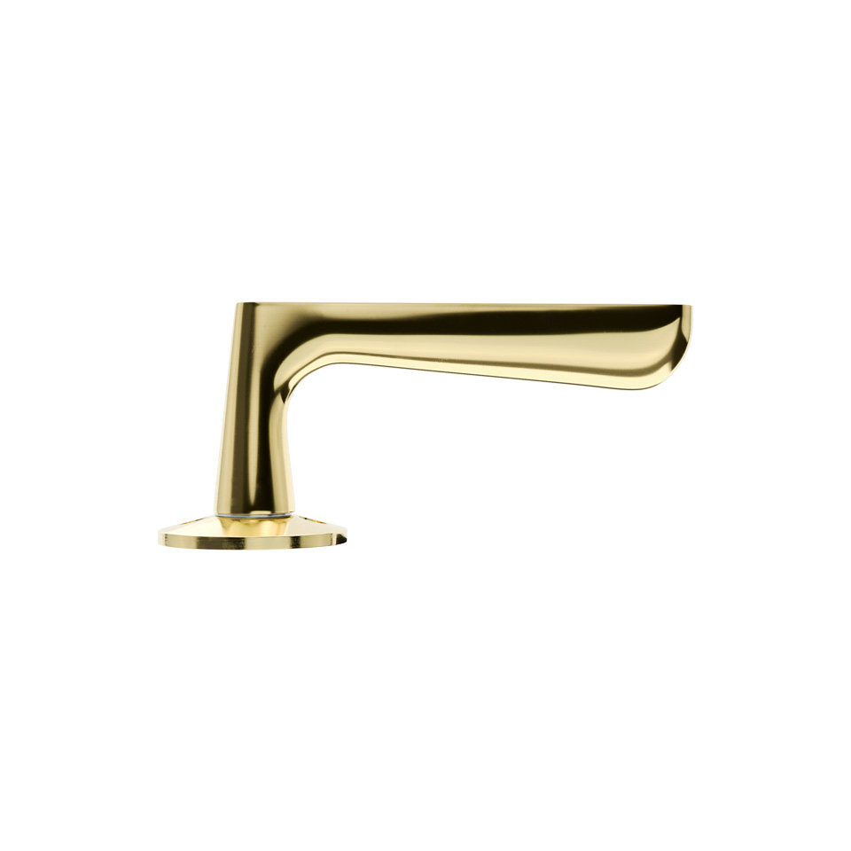 Haboselection interior door handle brass 18084
