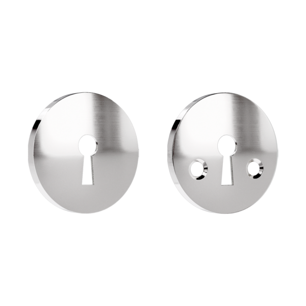 Haboselection keyhole escutcheon chrome 18090 double