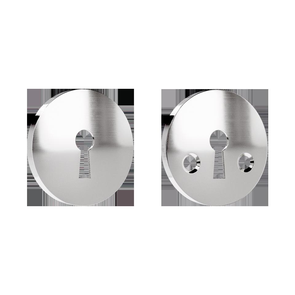 Haboselection keyhole escutcheon chrome 18090 double