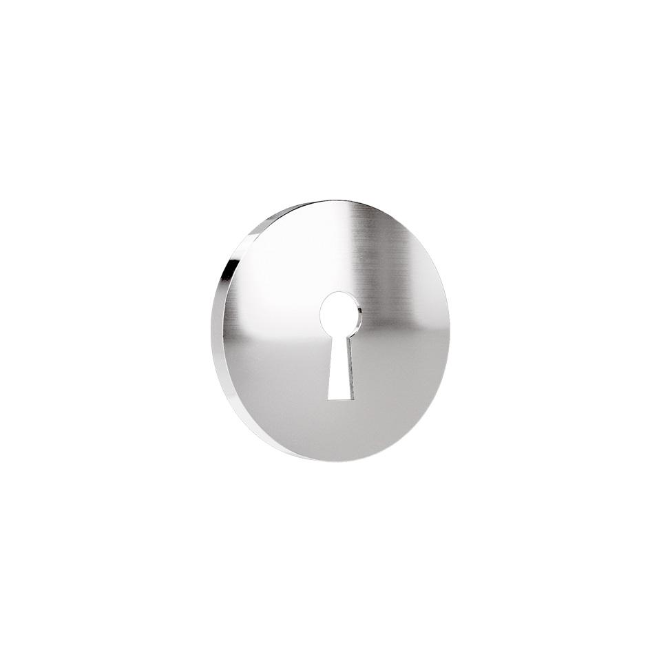Haboselection keyhole escutcheon chrome 18090