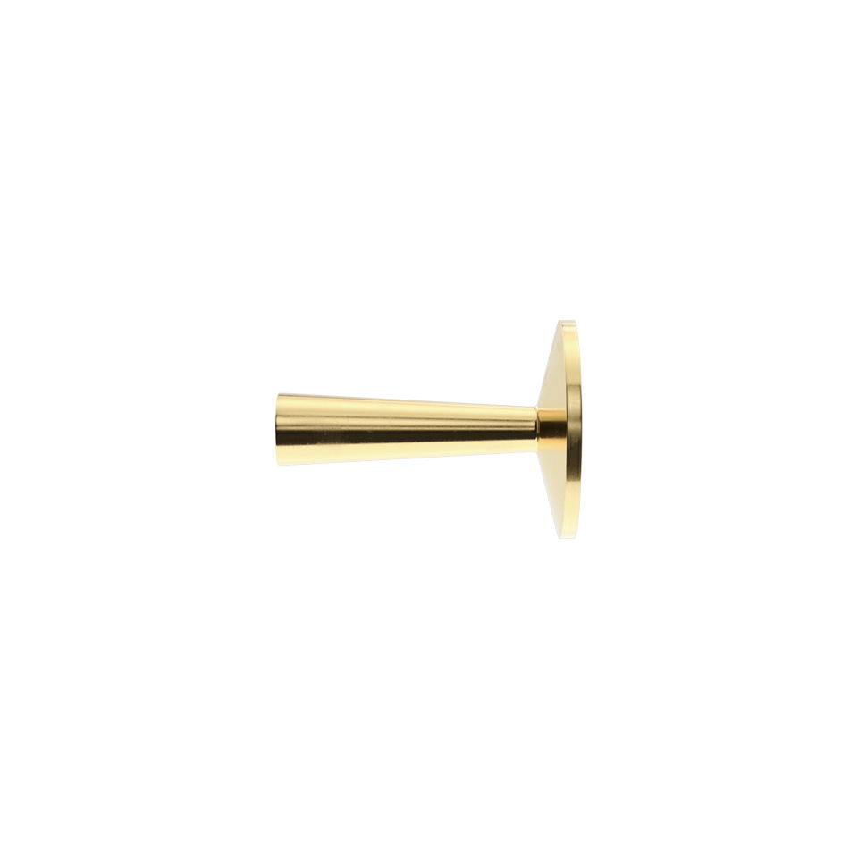 Haboselection knob brass 18093
