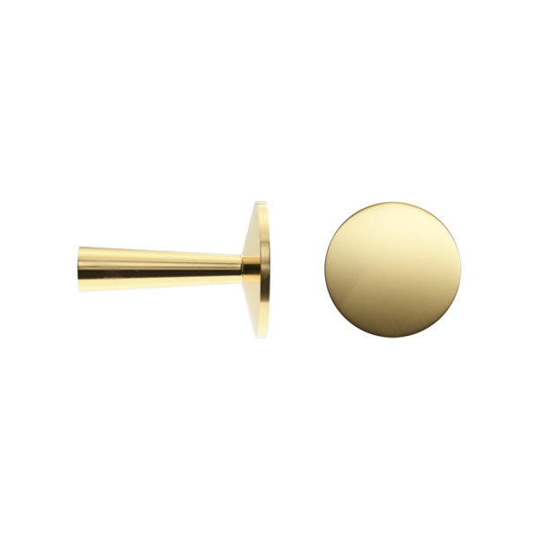 Haboselection knob brass 18093 double 1