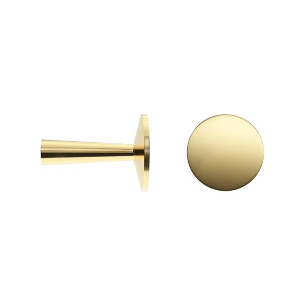 Haboselection knob brass 18093 double