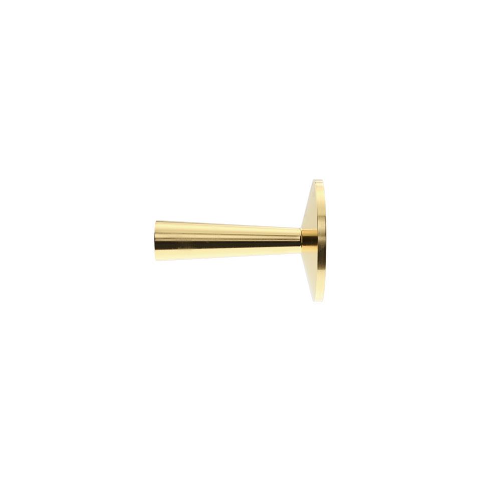 Haboselection knob brass 18093