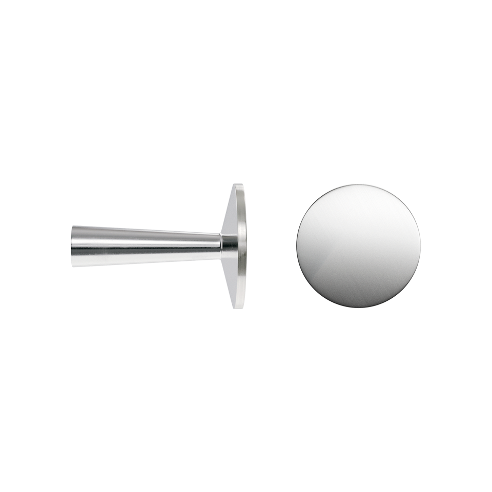 Haboselection knob chrome 18092 double 1