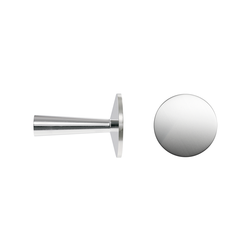 Haboselection knob chrome 18092 double