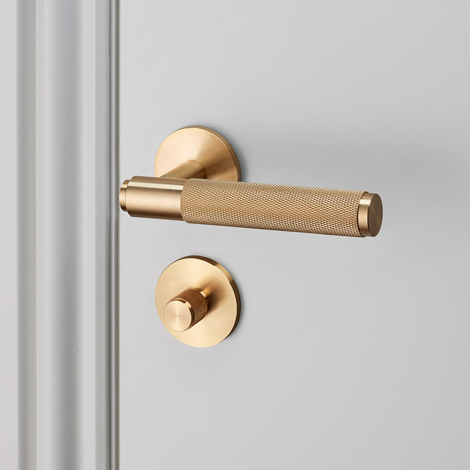 Buster Punch door lever thumbturn brass high res 960x960px