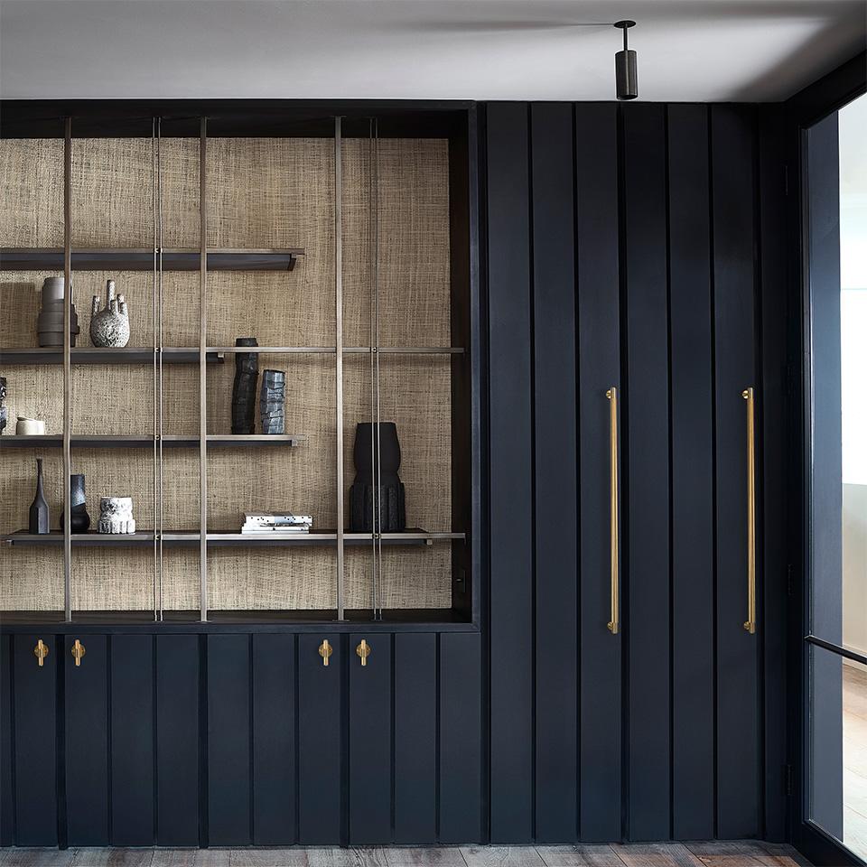 3. BusterPunch Closet Bar Brass Lifestyle 1