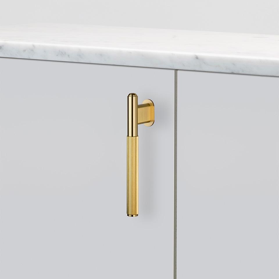 BP L Bar Single Brass