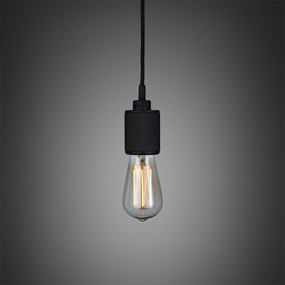 BusterPunch Heavy Metal Black LED Teardrop Bulb 1