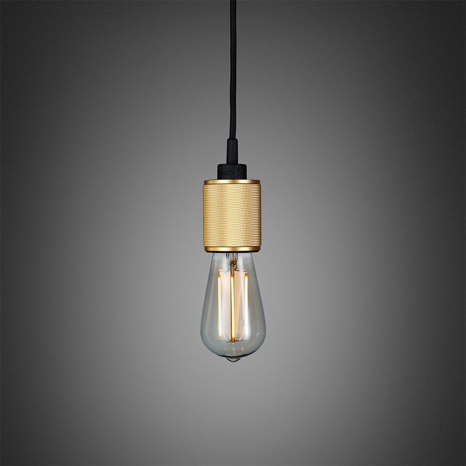 BusterPunch Heavy Metal Brass LED Teardrop Bulb 1