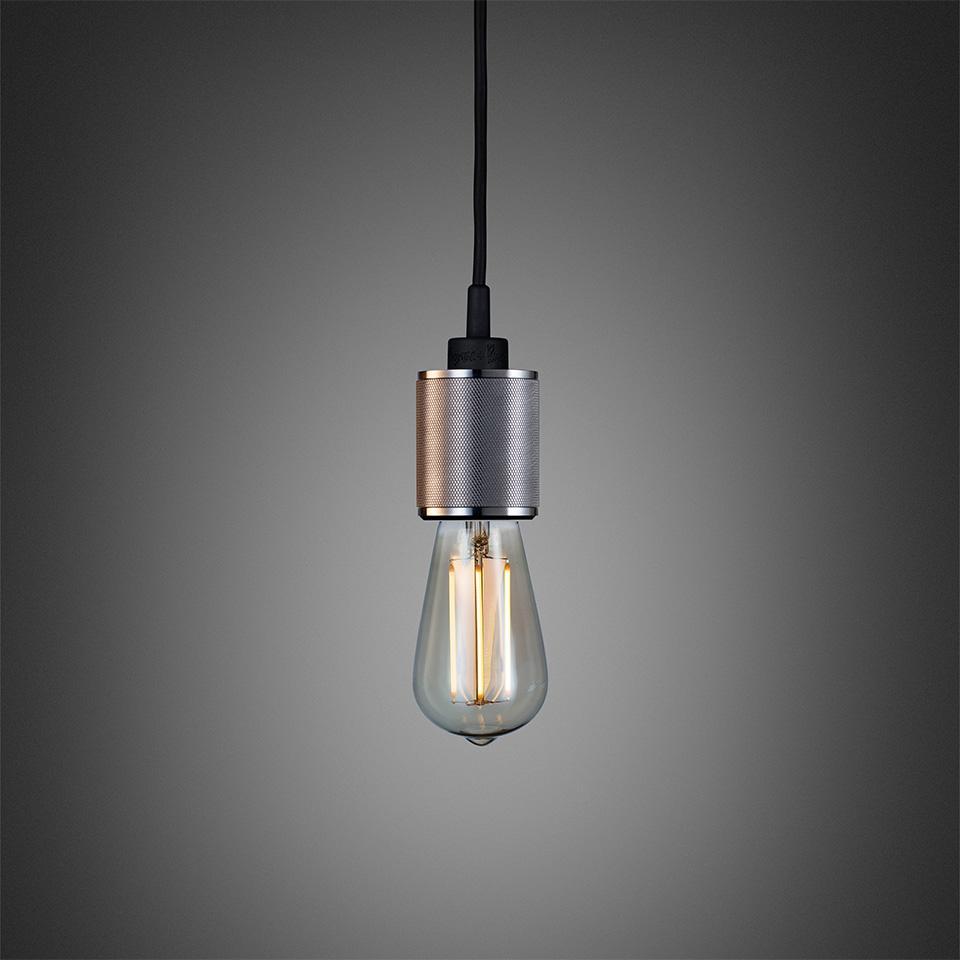 BusterPunch Heavy Metal Steel LED Teardrop Bulb 1