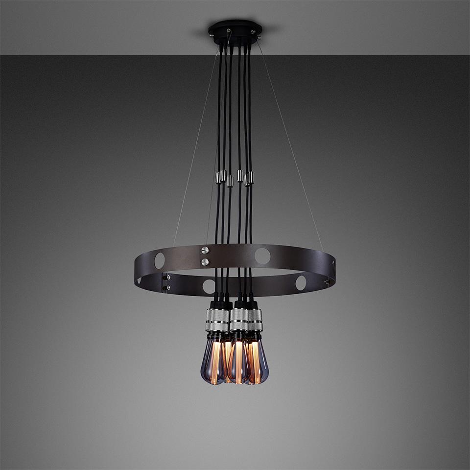 BusterPunch Hero Light Graphite Steel Smoked Bulb 1