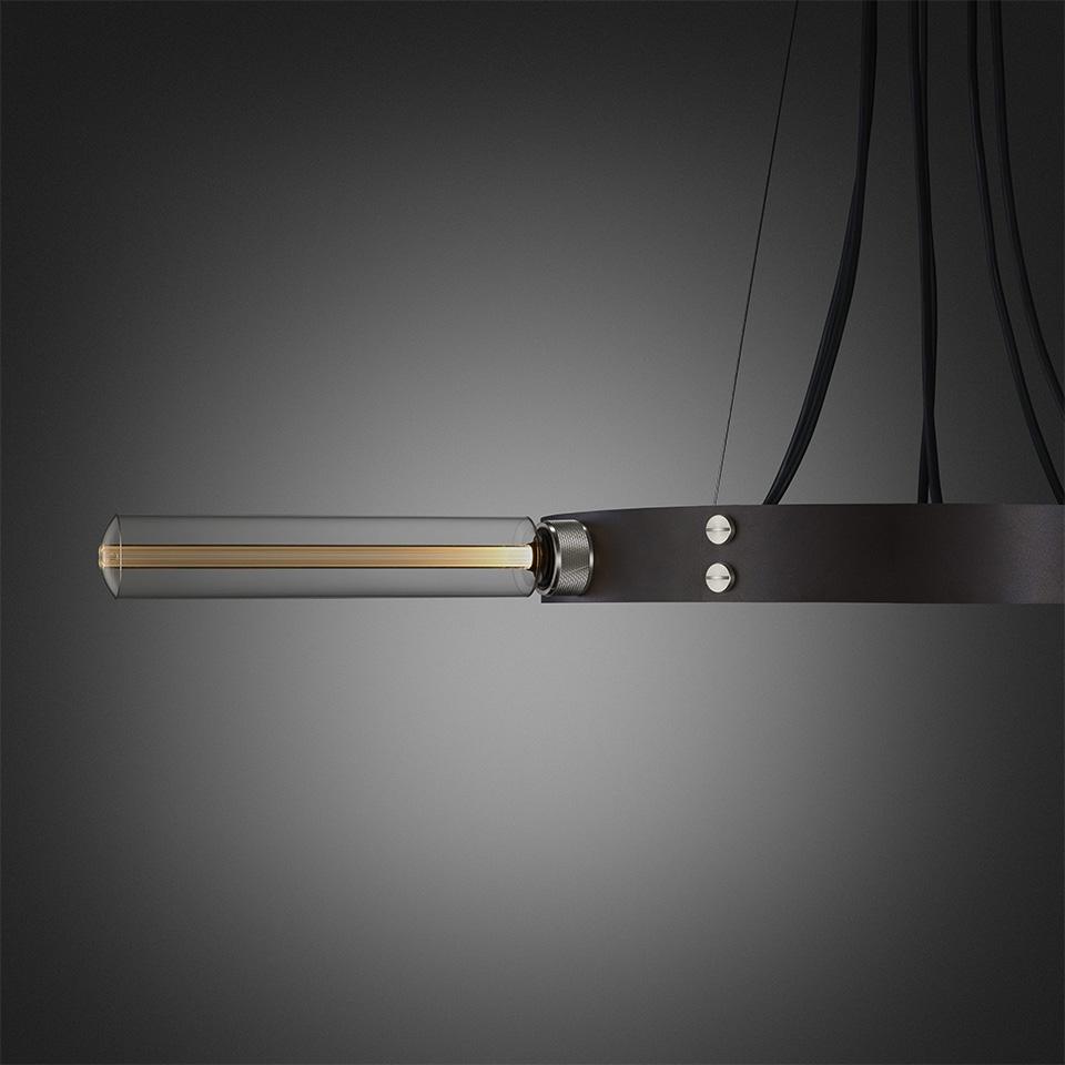 BusterPunch Hero Light Graphite Steel Tube Bulb Detail