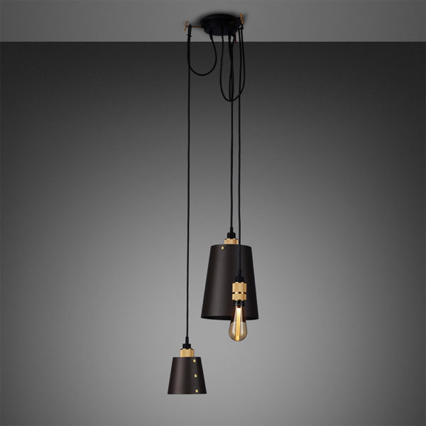 BusterPunch Hooked 3.0 Mix Graphite Brass Gold Bulb 1