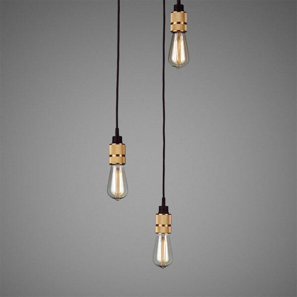BusterPunch Hooked 3.0 Nude Brass LED Teardrop Bulb 2