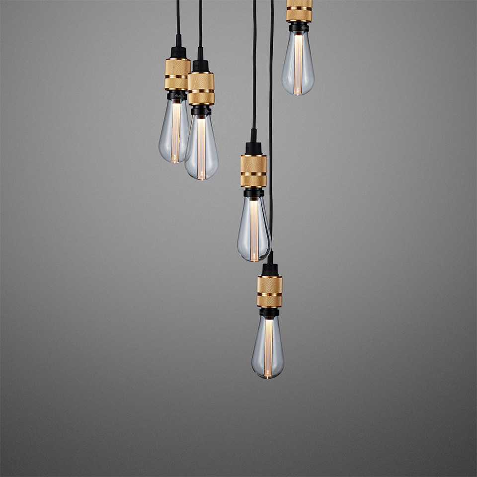 BusterPunch Hooked 6.0 Nude Brass Crystal Bulb 2 1