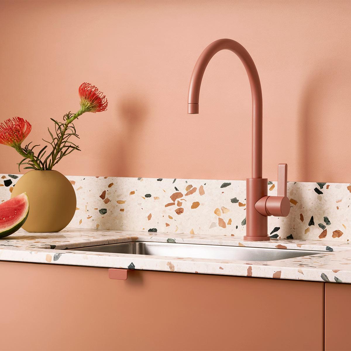 0058 Toniton 03 156 Peach creme terrazzo edge 40 handle original 506203
