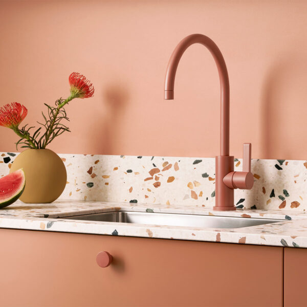 0062 Toniton 03 162 Peach creme terrazzo dot handle original 506194