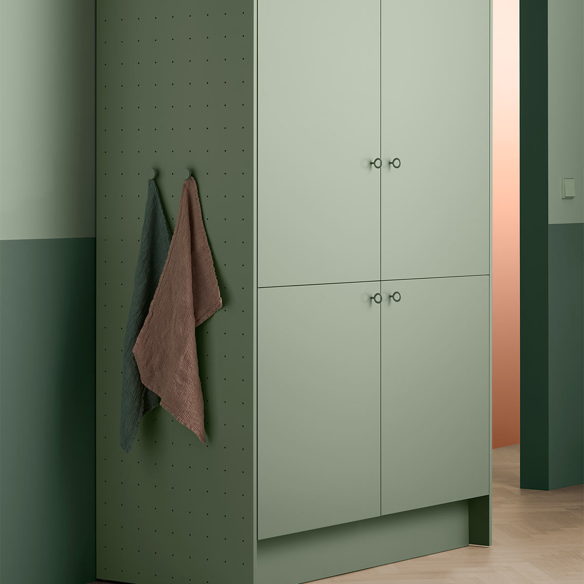 Toniton 08 0004 Green cabinet original 506101